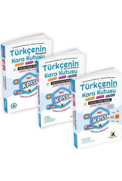 2021 KPSS Türkçenin Kara Kutusu Altın Set DİJİTAL ÇÖZÜMLÜ Konu Özetli Soru Bankası Paket