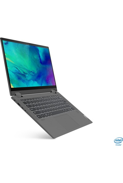 "Lenovo Flex 5 AMD Ryzen 7 4700U 8GB 512GB SSD Windows 10 Home 14"" FHD Dokunmatik Ikisi Bir Arada 81X20054TX"