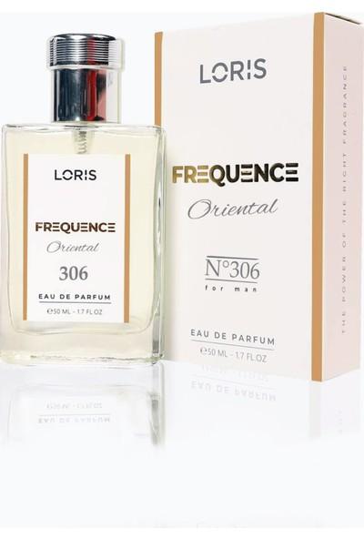 Loris E-306 Frequence Parfume Edp 50 ml Oryantal Erkek Parfüm
