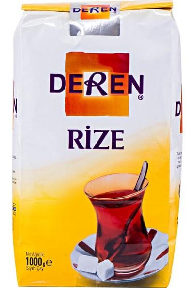 Deren Çay Rize Siyah Dökme 1000 gr