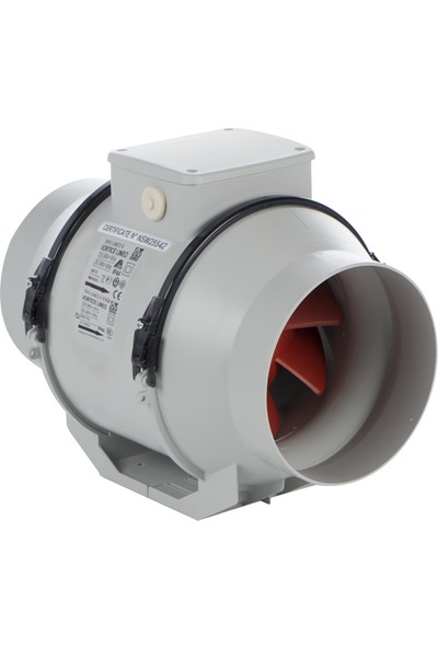 Vortice Lineo 200 Vo - 1060M3/H Kanal Tipi Fan