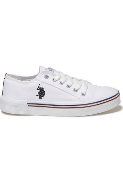 U.S. Polo Assn. U.s Polo Assn. Penelope 1fx Beyaz Erkek Günlük Konvers Ayakkabı