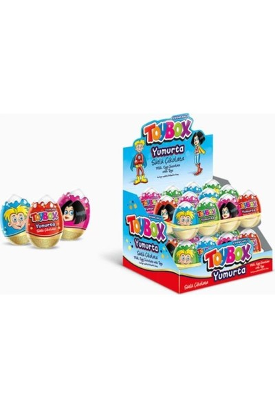Toybox Yumurta Çikolata 20 gr 24 'lü