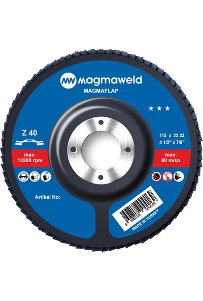 Magmaweld Flap Disk 115 x 22 mm