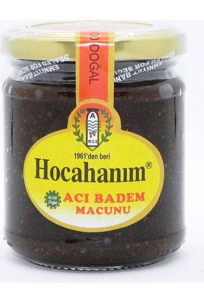 Hocahanım Acı Badem Macunu 230 gr