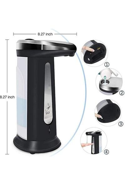 Declean 400ML Sıvı Kapasiteli Pilli Sensörlü Otomatik Sıvı Sabunluk ve Dezenfektanlık