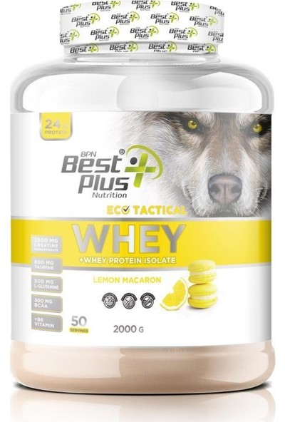 Bpn Eco Tactical Whey Protein Tozu 2000 gr Lemon-Macaron
