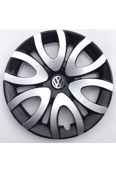 Avsaroto Volkswagen Caddy 15'' Inç Çelik Jant Görünümlü Renkli 4lü Set Jant Kapağı