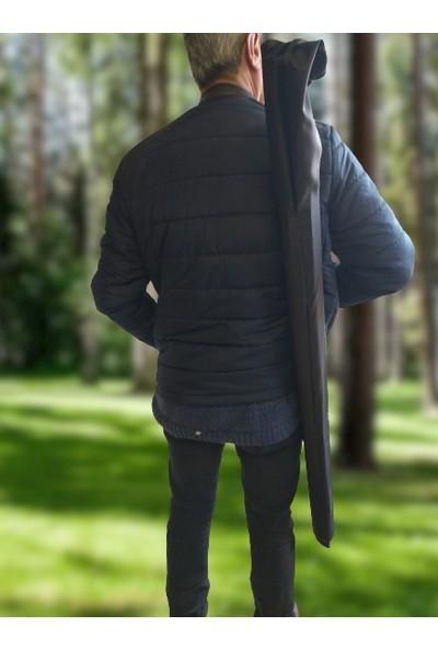 İkra Ahşap Şövale Çantası Siyah 140 cm