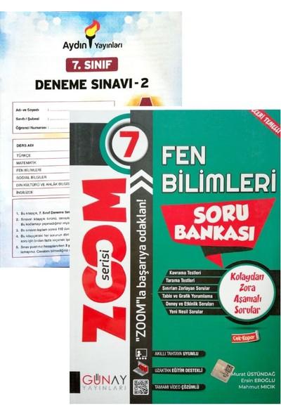 Günay Yayınları 7. Sınıf Zoom Fen Bilimleri (Aydın Denemeli)