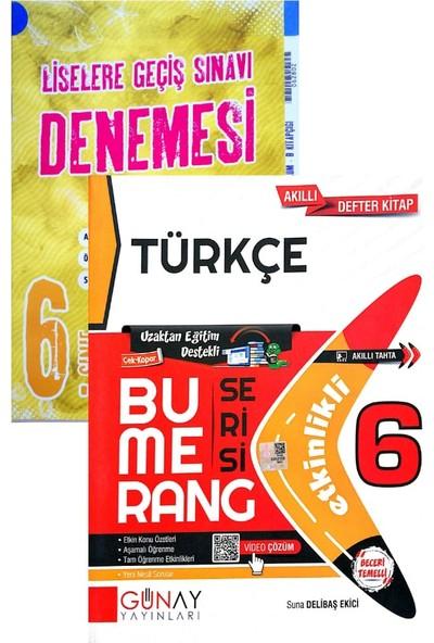 Günay Yayınları 6. Sınıf Bumerang Türkçe (Okyanus Denemeli)