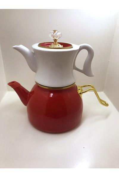 sudem Emaye Çaydanlık Porselen Çaydanlık Porselen