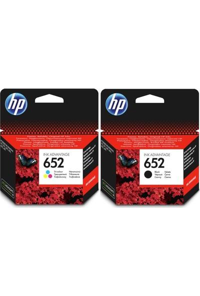 HP 652 Siyah ve Renkli Avantaj Paket Kartuşu