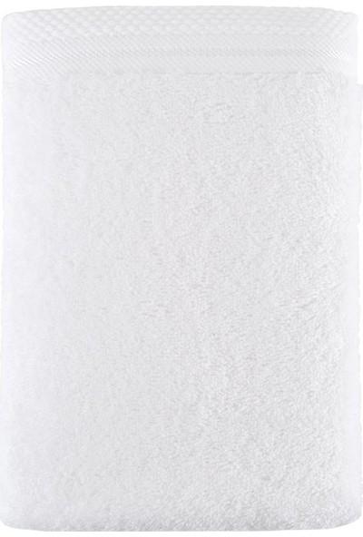 Irya Sedef Bambu Havlu Beyaz 90*150