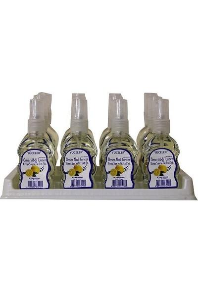 Yüceler Ömer Abdi Tuncer Limon Kolonyası Sprey 50 ml Pet Şişe 24' lü
