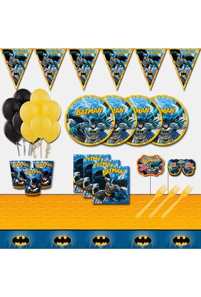 Batman 24 Kişilik Doğum Günü Parti Malzemeleri Seti