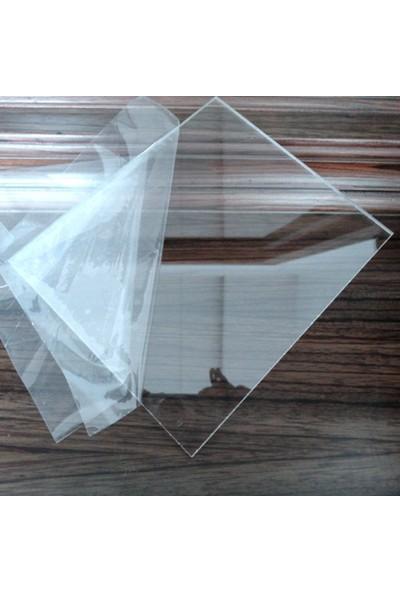 Diseno Şeffaf Pleksi Levha Plaka 4.8x5 mm Pleksi Glass 30*30 Cm