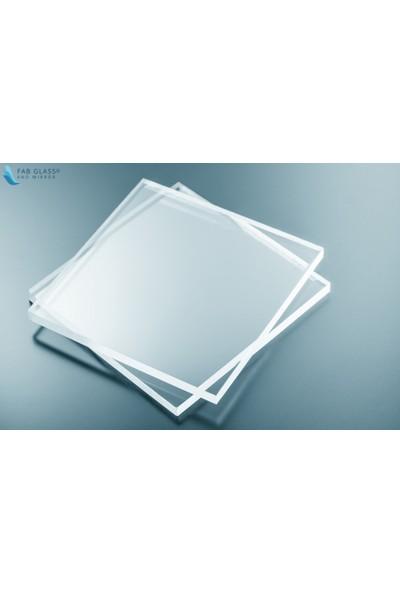 Diseno Şeffaf Pleksi Levha Plaka 7.8x8 mm Pleksi Glass 20*20 cm