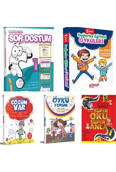 Artı Eğitim Yayınları 1. Sınıf Süper Set Sor Dostum Tüm Dersler + 1. Sınıf Hikaye + Okuma Anlama + Öykü Yorum + Çözüm Var