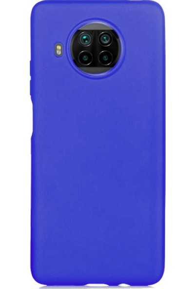 Case 4U Xiaomi Mi 10T Lite / Redmi Note 9 Pro 5G Kılıf Lüks Arka Kapak Premier Mavi
