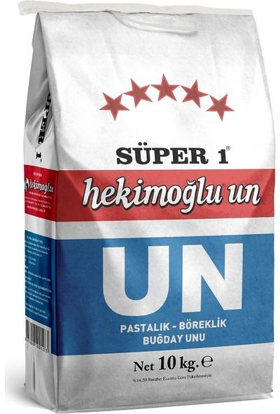 Hekimoğlu Un Hekimoğlu Süper 1 Pasta Böreklik Özel Amaçlı Buğday Unu 10 kg