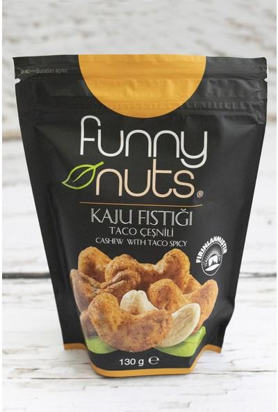 Funny Nuts Taco Çeşnili Kaju Fıstığı 130 gr