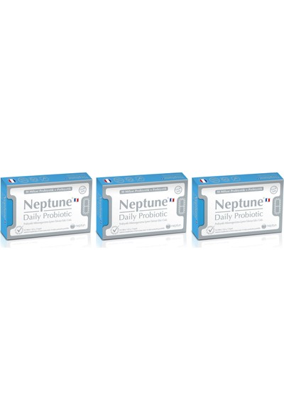 Neptune Daily Probiotic 30 Kapsül x 3