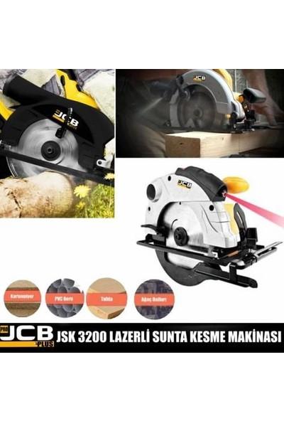 JCB Projcb Plus Jsk 3200 Sarı Daire Testere