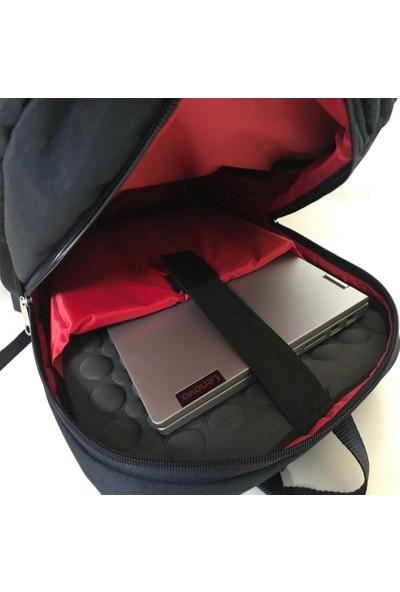 Boss Notebook Bilgisayar Laptop Okul Sırt Çantası - Lacivert