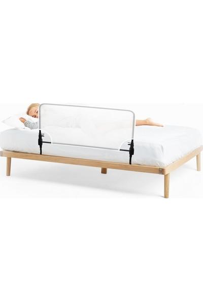 Agubugu Baby - Desensiz Beyaz Fileli Katlanabilir Yatak Bariyeri 150 cm