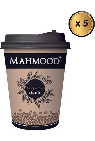 Mahmood Coffee Cappuccino Klasik Karton Bardak 25 gr x 5 Adet