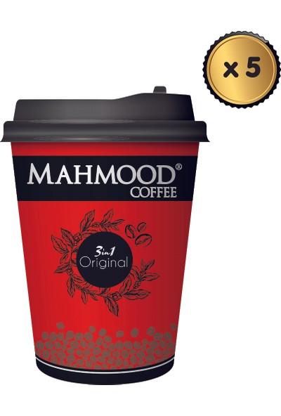 Mahmood Coffee 3ü1 Arada Karton Bardak 18 gr x 5 Adet