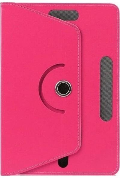 Evdeka Alcatel 1t 7'' Inç Üniversal Stand Olabilen Dönerli Tablet Kılıfı
