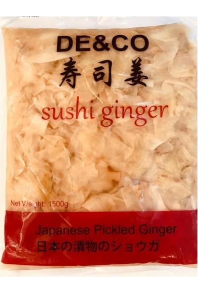 Deco De&co Sushi Pickled Ginger Zencefil Turşusu 1500 Gr.