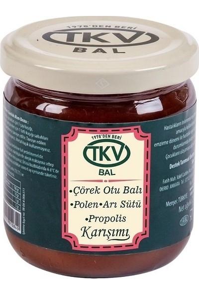 TKV Çörek Otu Balı+Polen+Arı Sütü+Propolis (210 Gr)