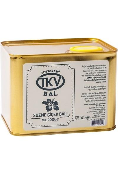 TKV Süzme Çiçek Balı (2 Kg)