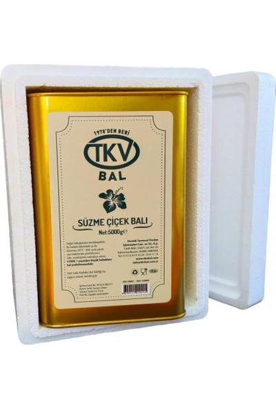 TKV Süzme Çiçek Balı (5 Kg)