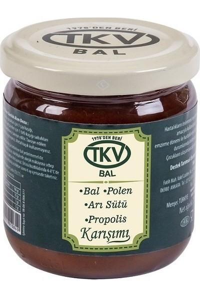 TKV Bal+Polen+Arısütü+Propolis Karışımı (210 Gr)