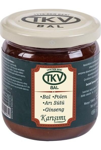 TKV Bal+Polen+Arı Sütü+Ginseng (210 Gr)