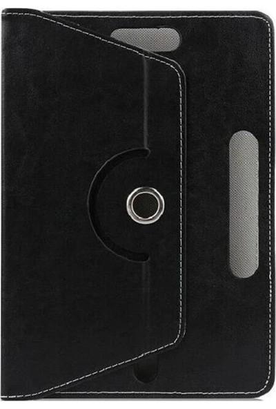 Evdeka Concord C-779 Plus M19 7üniversal Stand Olan Dönerli Tablet Kılıf Siyah