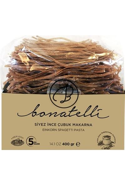 BioGurme Bonatelli Siyez Ince Çubuk Makarna, 400GR