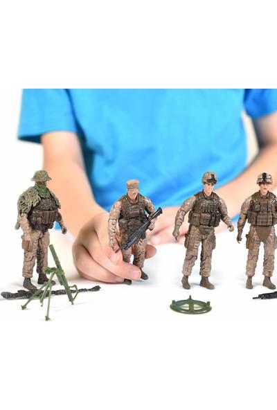 Sunny Elite Force Marine Recon 5'li Paket Aksiyon Figürü