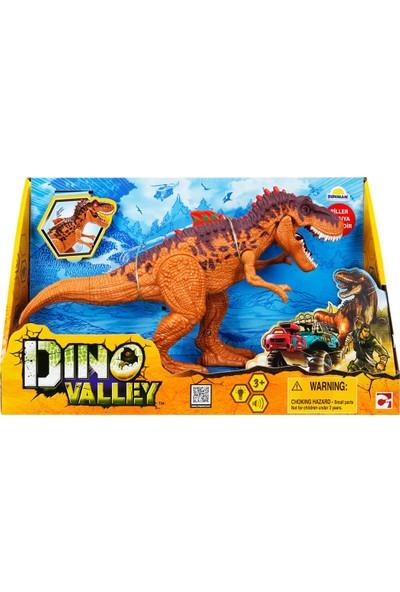 Chap Mei Dino Valley Sesli ve Işıklı Dinozor – Kahverengi
