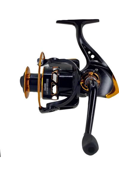 Camorex DQ6000 Spinning Reel Professional Metal Olta Makinesi
