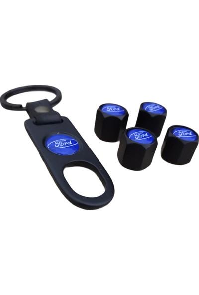 Kuzey Grup Ford Metal Sibop Kapağı Anahtarlık Set