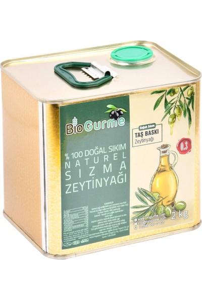 Bio Gurme Biogurme Naturel Sızma Zeytinyağı (Tnk), 2 Lt