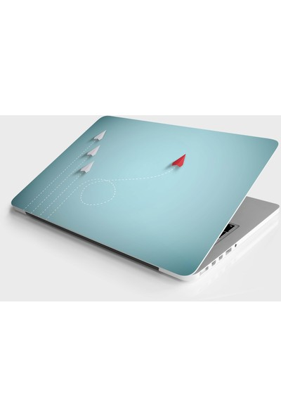 Jasmin2020 Laptop Sticker Notebook Kaplama Etiketi Kağıt Uçak