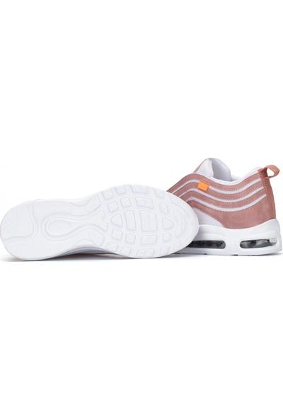 Dark Seer A95.UN Pudra Beyaz Unisex Sneaker