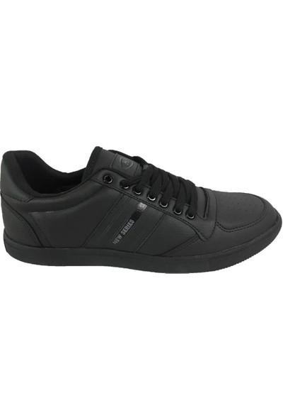 M.p 192-7722 Günlük Rahat Comfort Taban Siyah Erkek Spor Ayakkabı