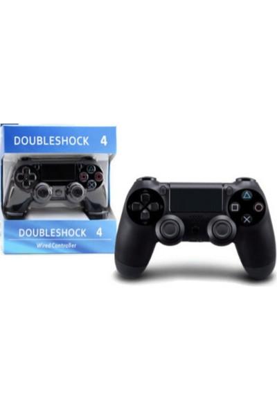 Doubleshock Ps4 Kablosuz Oyun Kolu Ps4 Wıreless Controller Ps4 Joystick Siyah